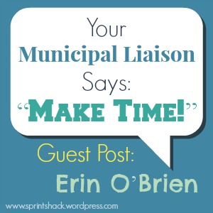 "Your Municipal Liaison Says: ""Make Time!"" Erin O'Brien reveals two truths about NaNoWriMo."