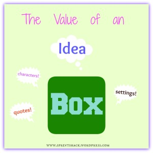 "The Value of an ""Idea Box"": Foster creativity and imagination using this technique!"