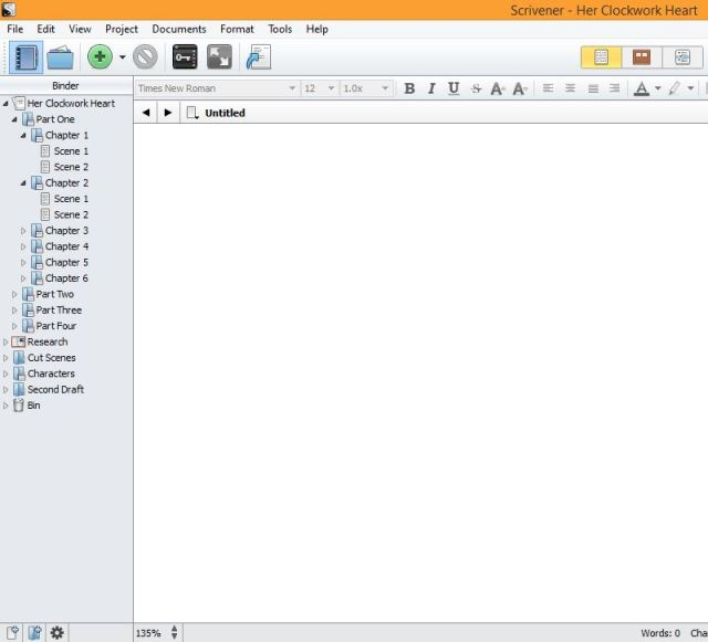 3 Features that Make Scrivener Ideal for First Drafts. Feature One: The Binder | www.sprintshack.wordpress.com