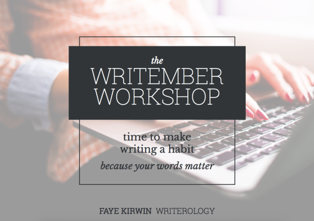 Want to make writing a habit? The Writember Workshop will help you make that dream a reality. Over 32 lessons, you'll use psychology to master the art of daily writing—because your words matter.