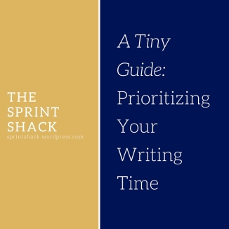prioritizing your writing time