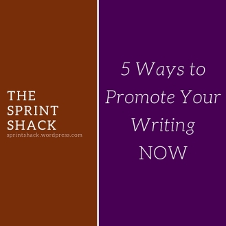 5 ways to promote writing