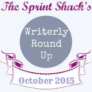 Writerly Round Up monthly template